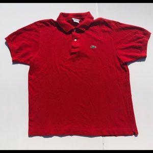 Lacoste Men's Size 5 Large Short Sleeve Polo Shirt